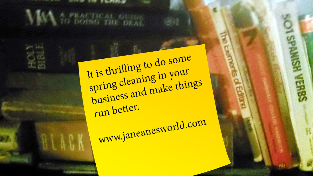 spring cleaning, business plan, strategic plan, finances, employee records, accounting, business operations