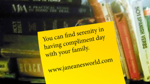 Serene Sunday, spring into action, family improvements, compliments, children, sibling rivalry