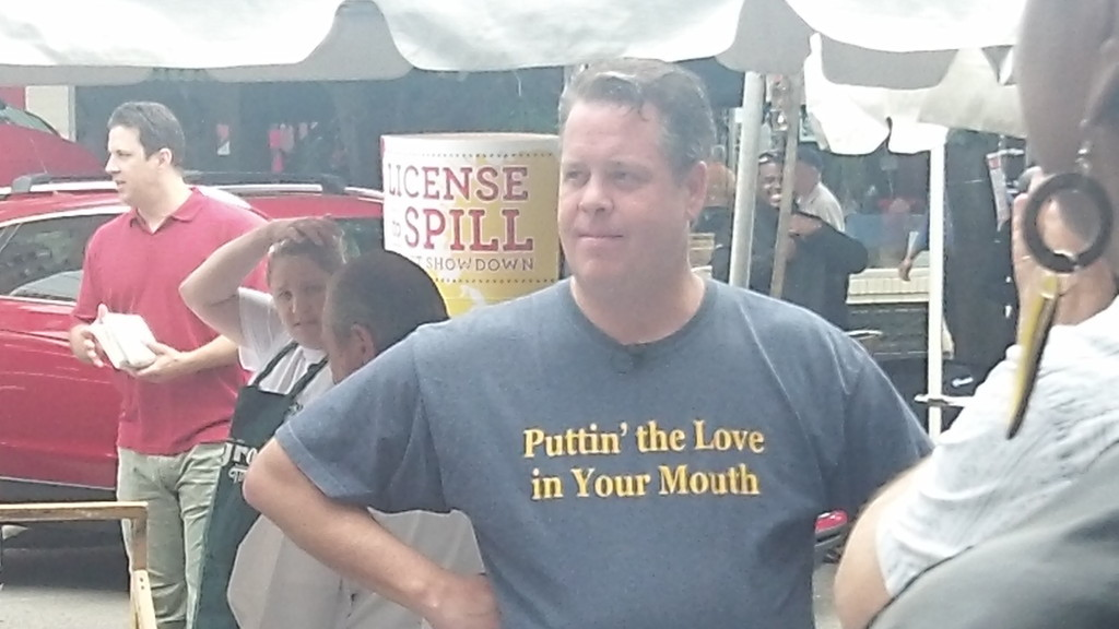 Chef Peter McAndrews who wants to put love in your mouth!