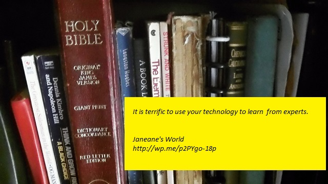 Use your technology to read what the experts have to say.