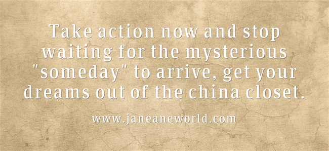 get your plan out of the chin closet www.janeaneswold.com