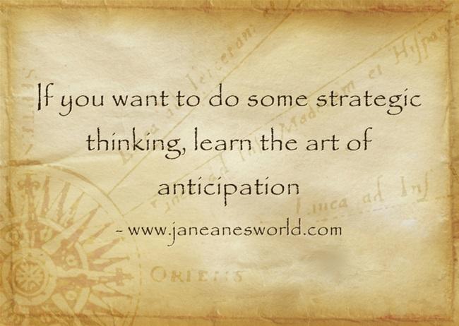 a to z challenge basics strategic thinking www.janeanesworld.com