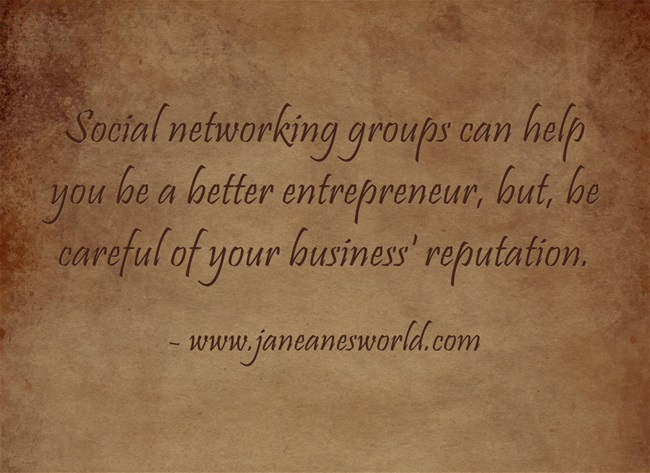 use your network to find work www.janeanesworld.om