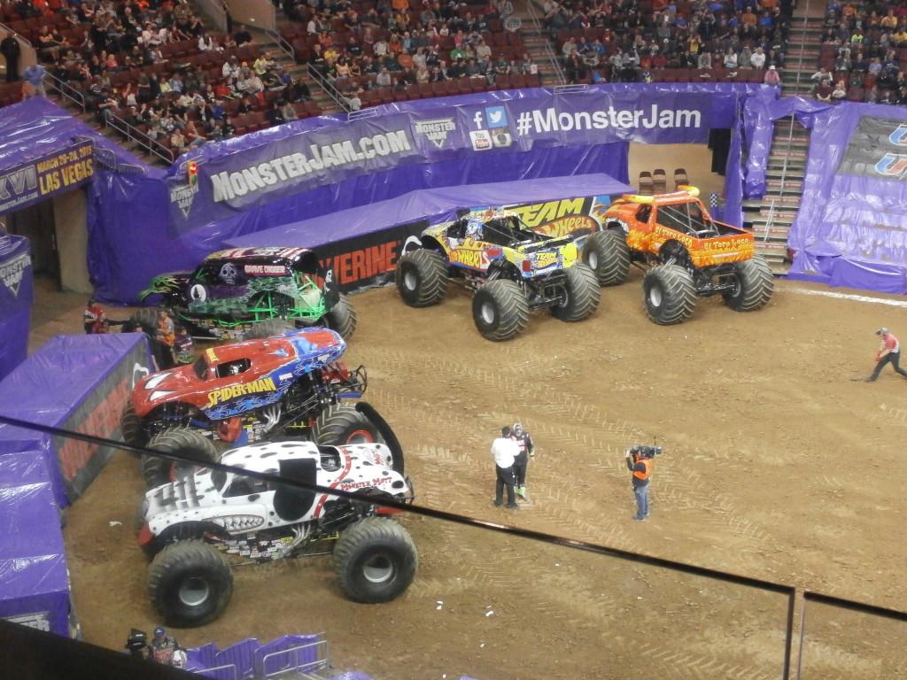 Monster Jam at Wells Fargo www.janeanesworld.com