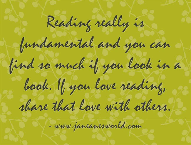 share your love of reading