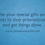Use-your-special-gift organizational marvel www.janeanesworld.com
