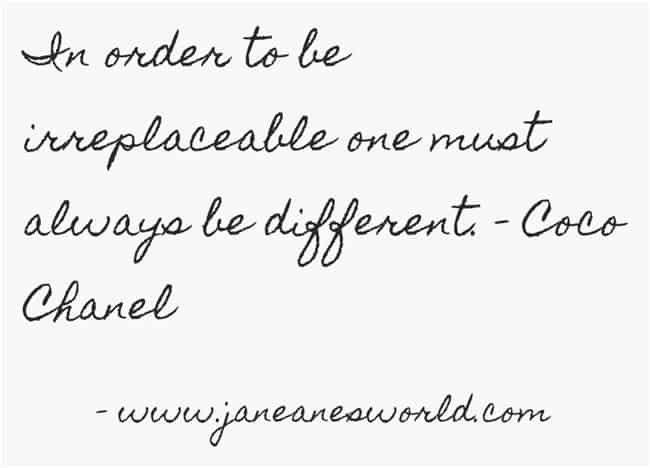coco chanel women's history month www.janeanesworld.com