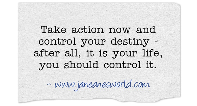 Everyone who wants to get things done must TAN aka Take Action Now. All the talking and planning in the worldwill get nothing accomplished without action. In addition, if you don't take action now, someone else will and they will control your destiny.