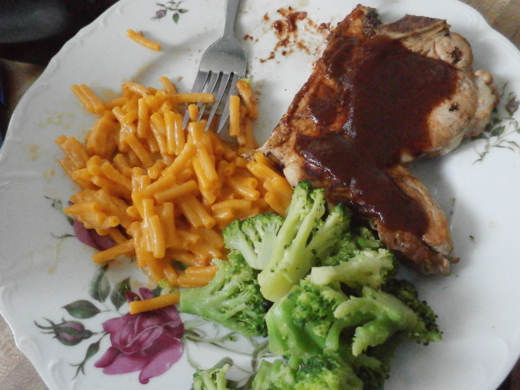 grilled pork with bbq sauce www.janeanesworld.com