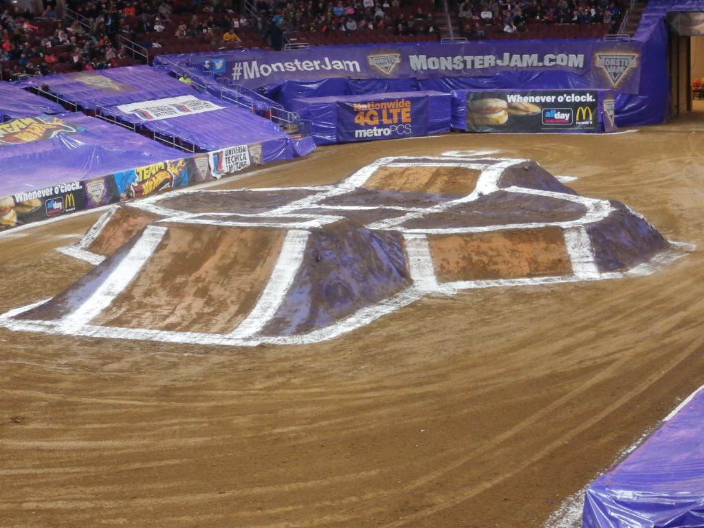 #MonsterJam arena www.janeanesworld.com