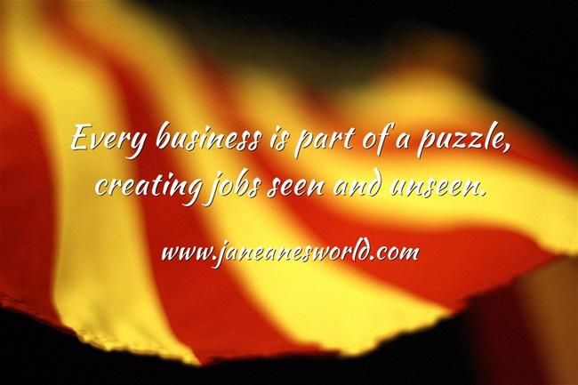 Entrepreneurs are part of the world www.janeanesworld.com