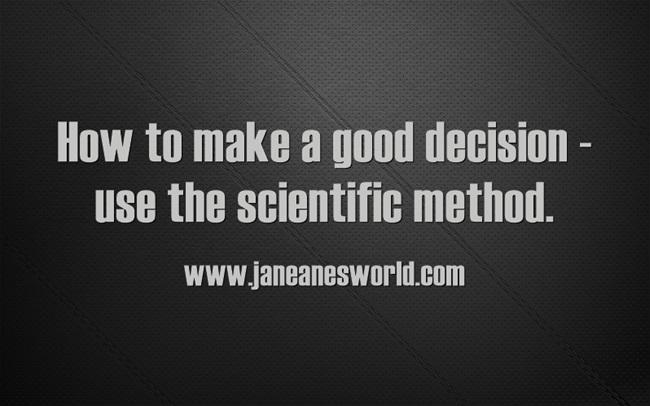 decision making www.janeanesworld.com