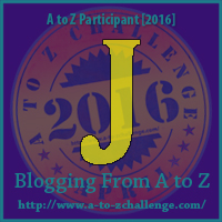 J A to Z challenge