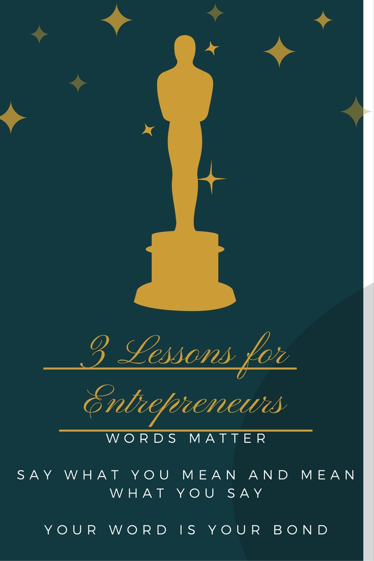 three lessons for entrepreneurs