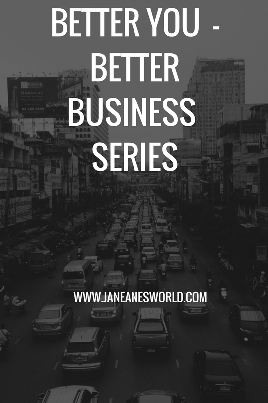 It is important to realize that the better you are, the better your business will be and to act accordingly.