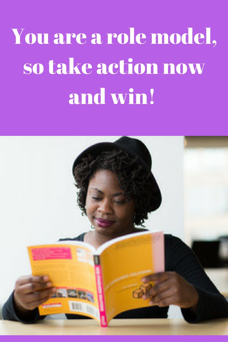 take action you are a role model