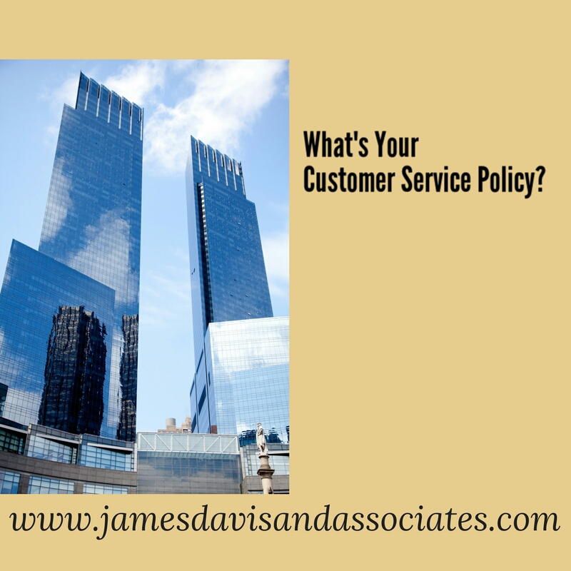 hat's your customer service policy