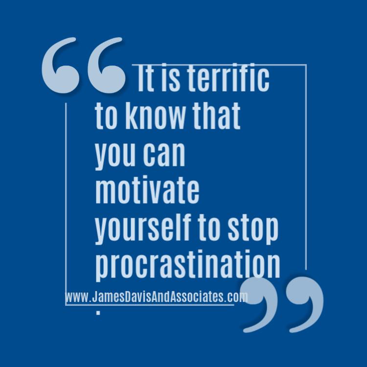 "[Tweet ""If procrastination kicks your butt, create a motivation list to help you kick back!""]"
